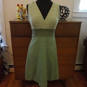 Patagonia Multi pattered stretchy knit dress